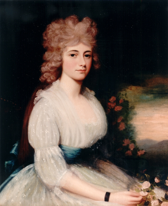 Louisa Catherine Adams by Edward Savage, 1794