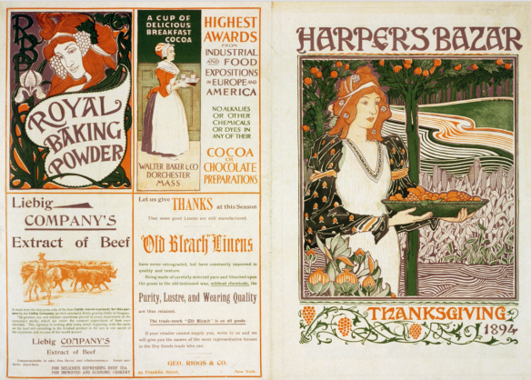 Harper's Bazar, Thanksgiving 1894