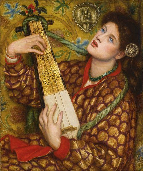 A Christmas Carol by Dante Gabriel Rossetti, 1867