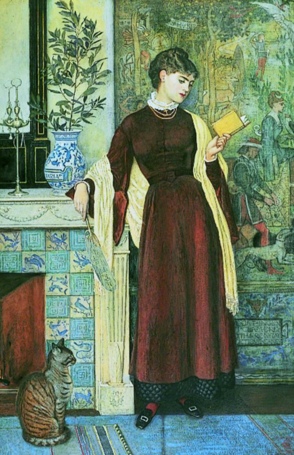 At Home: A Portrait by Walter Crane, 1872