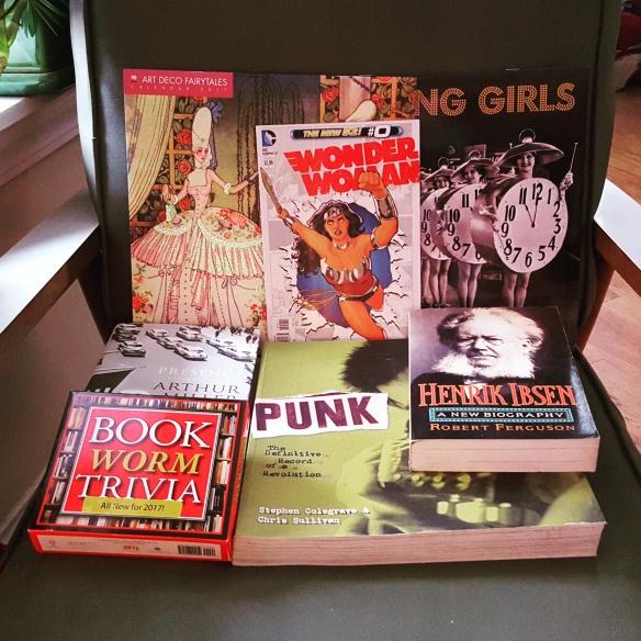 Books! Calendars! Comics!