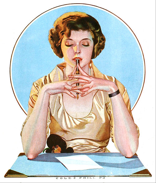 I Call It My True Companion by Coles Phillips, 1920