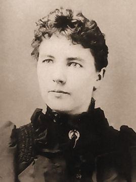 Laura Ingalls Wilder, circa 1885