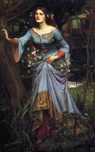 Ophelia by John William Waterhouse, 1910