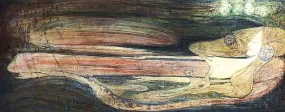Ophelia by Margaret Macdonald Mackintosh, 1908