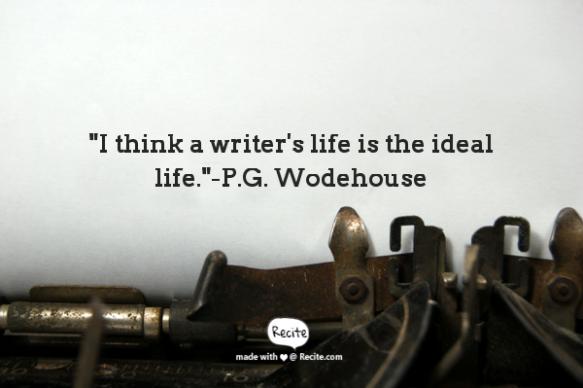 P.G. Wodehouse quote