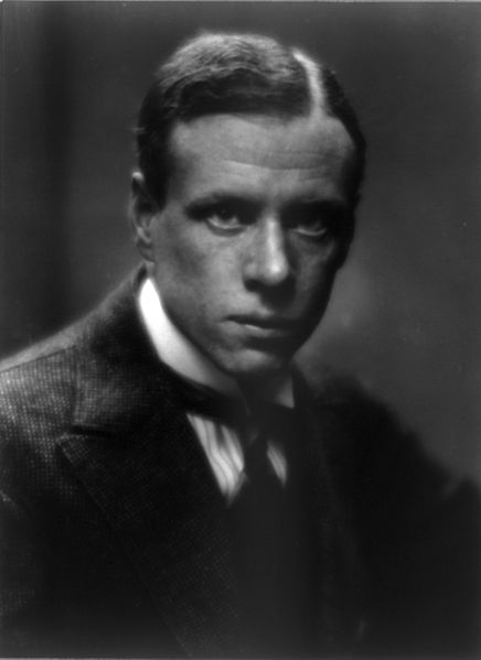 Sinclair Lewis by Arnold Genthe, 7 March 1914