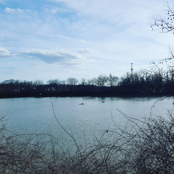 Kayakers Near Scioto Audubon