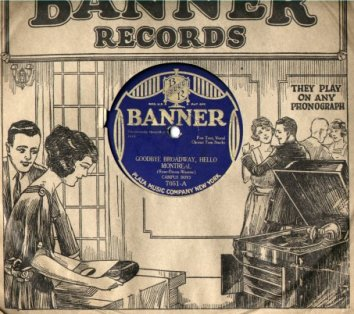 Banner Records Sleeves (1920s)